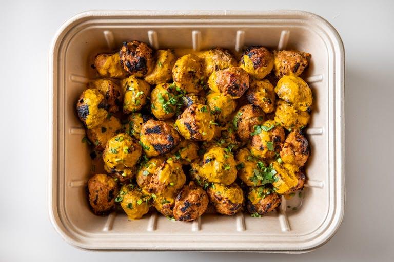 Turkey Meatballs tray