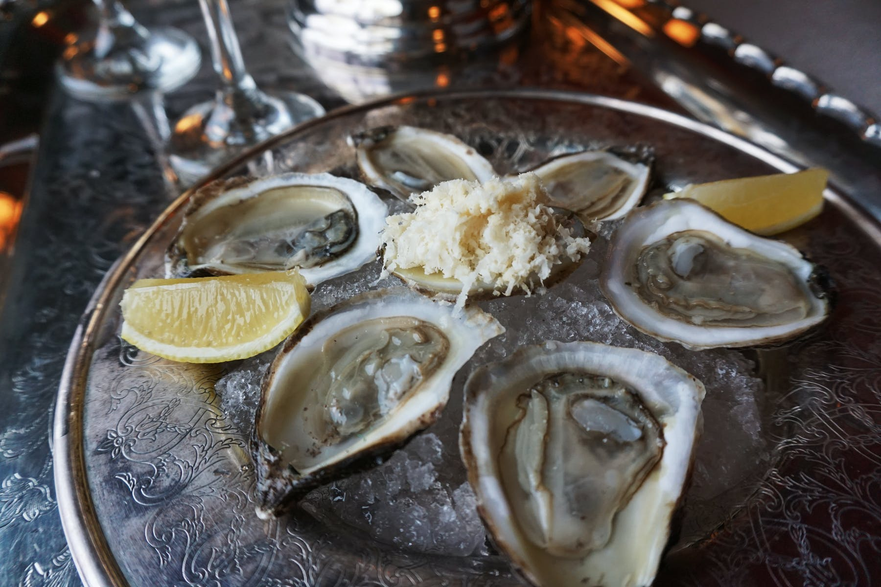 Oysters in Taveran