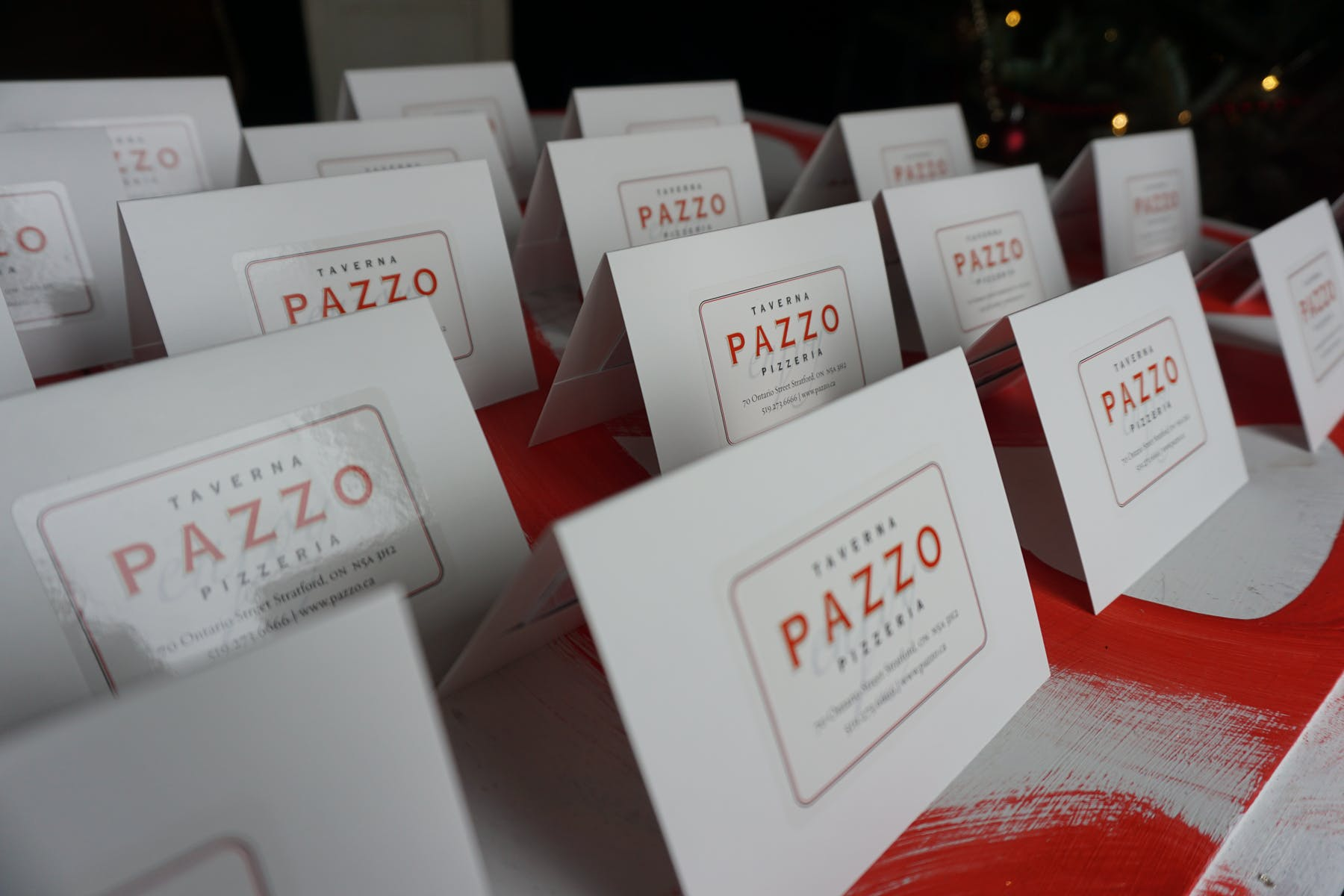 Pazzo Gift Cards