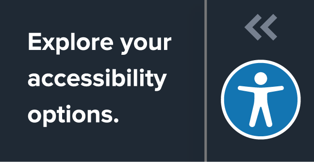 explore your accessibility options icon-logo