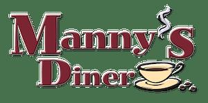 manny's diner logo