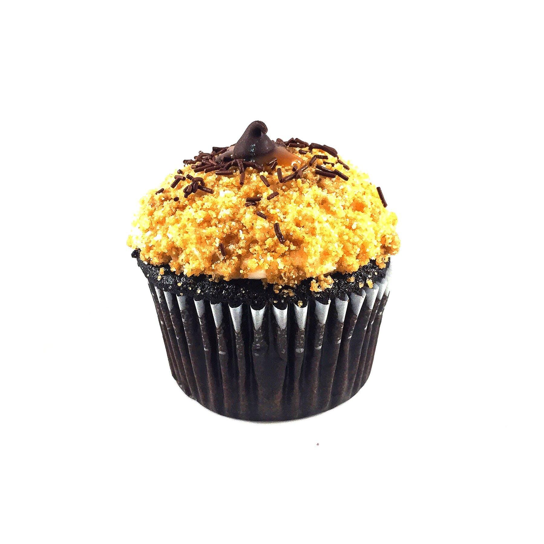 Muffin Tannenbaum.Menus James The Giant Cupcake