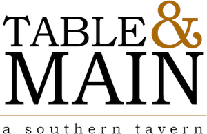 Table & Main a southern tavern logo