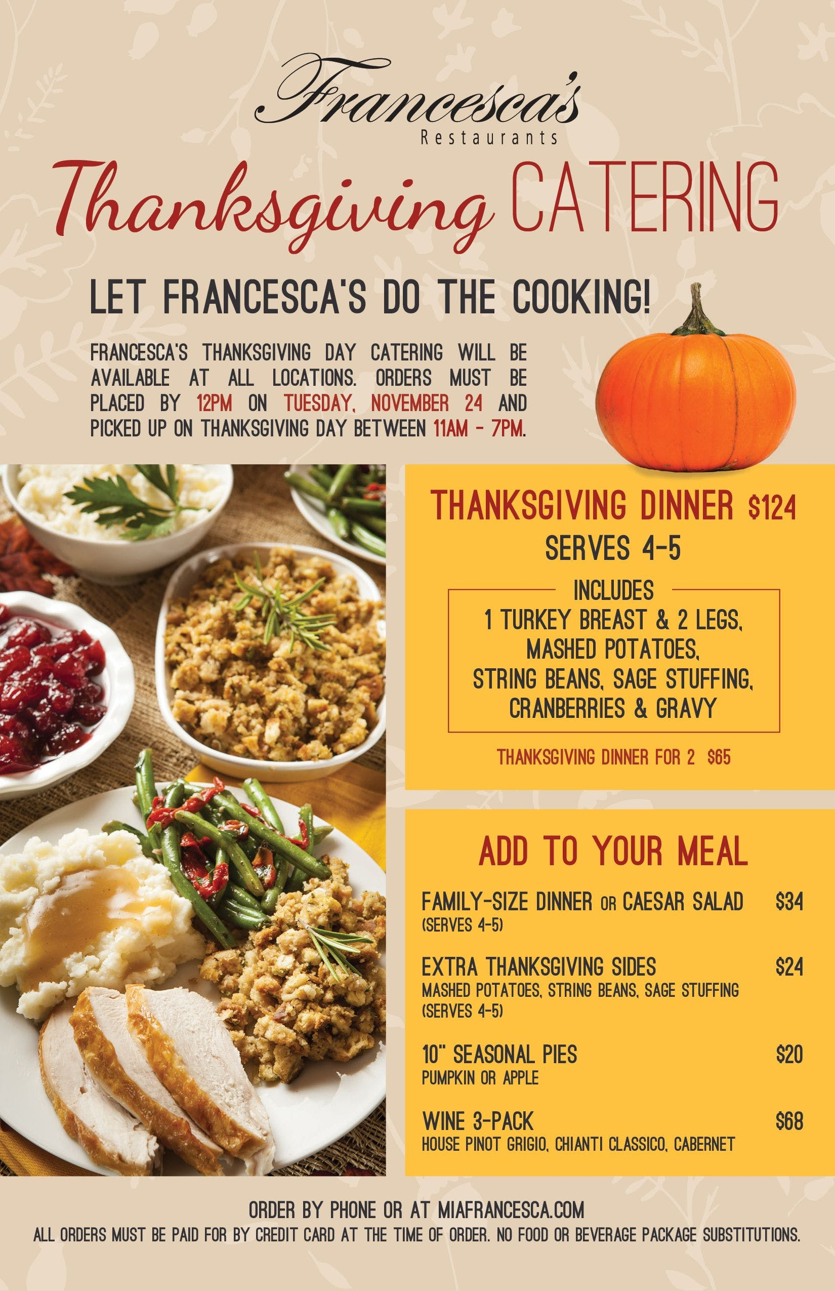 Get Your Fully Cooked Thanksgiving Meal To Go 30 Places In The Triangle Including Wegmans Triangle On The Cheap
