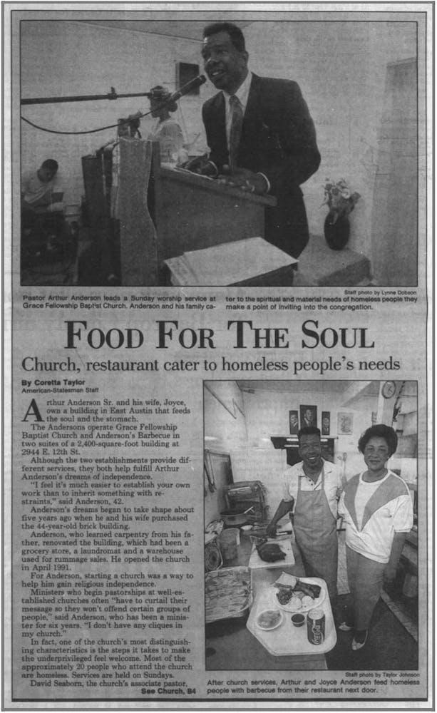 a man in a newspaper
