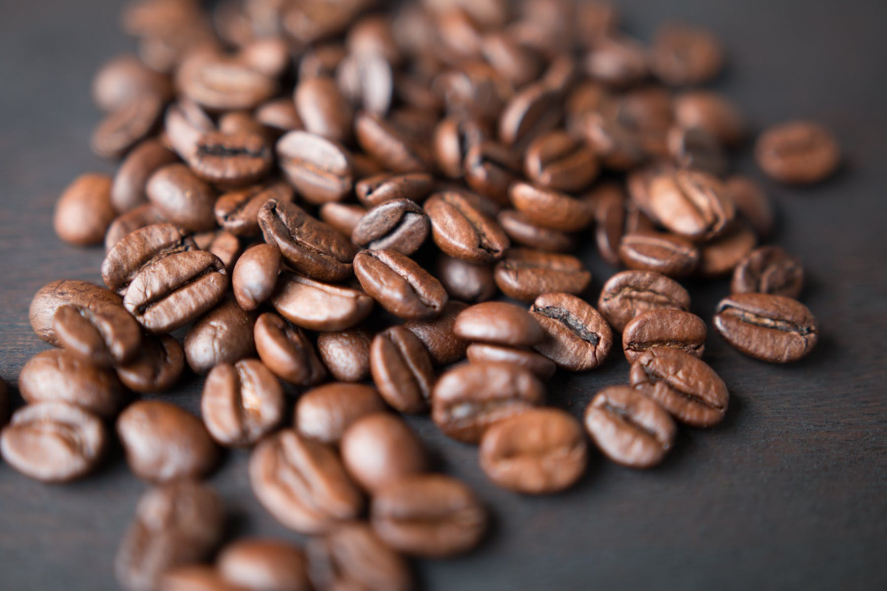 a close up of coffee