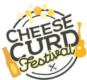cheese curd festival logo
