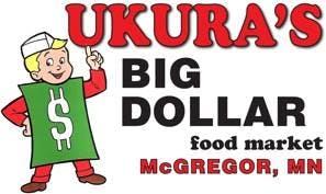 ukura's big dollar food market logo