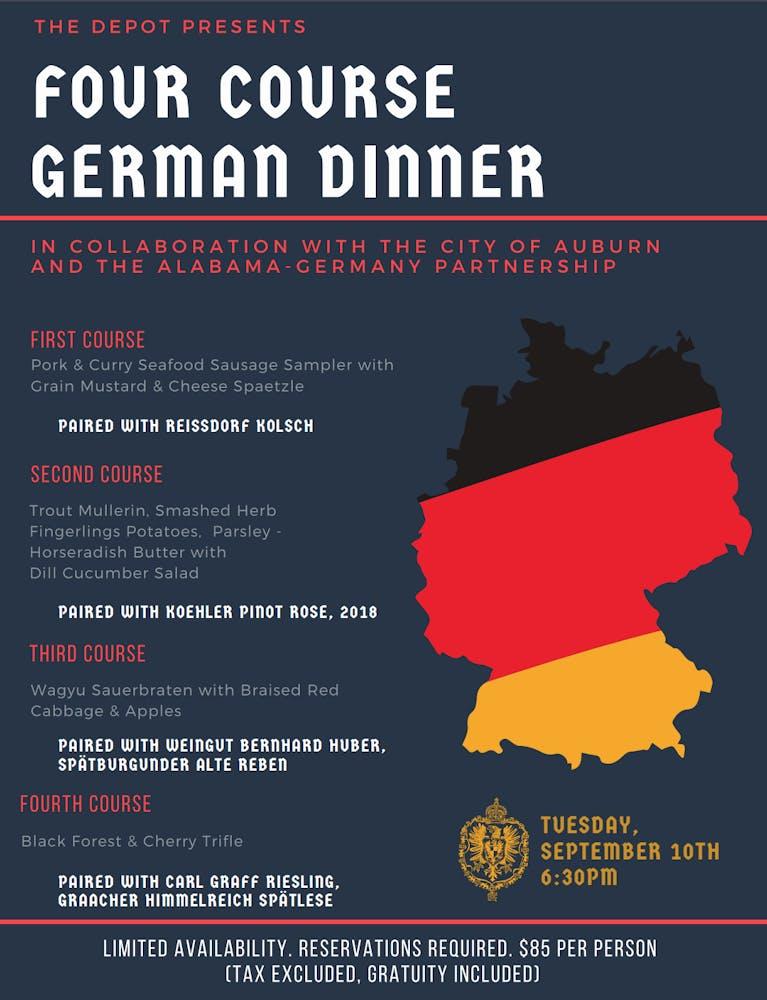 German Dinner | The Depot