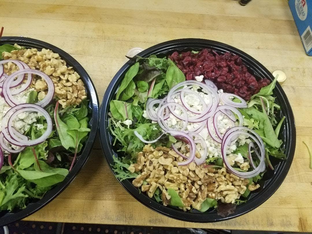 cranberry walnut salad vegetarian