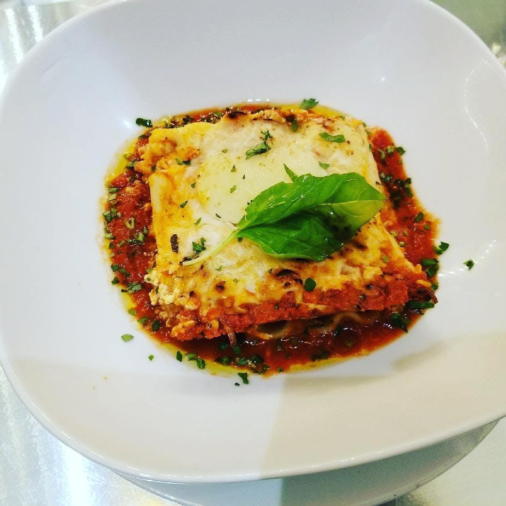 low fat turkey lasagna