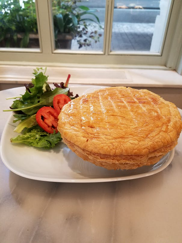 Chicken Puff Pie