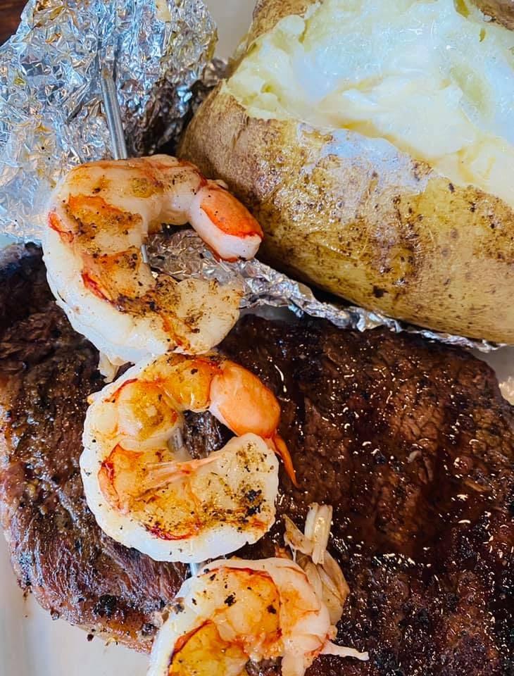 Ribeye Steak & Shrimp