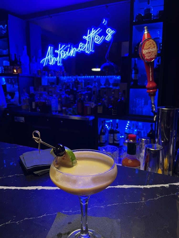 Cocktail at Antoinette's