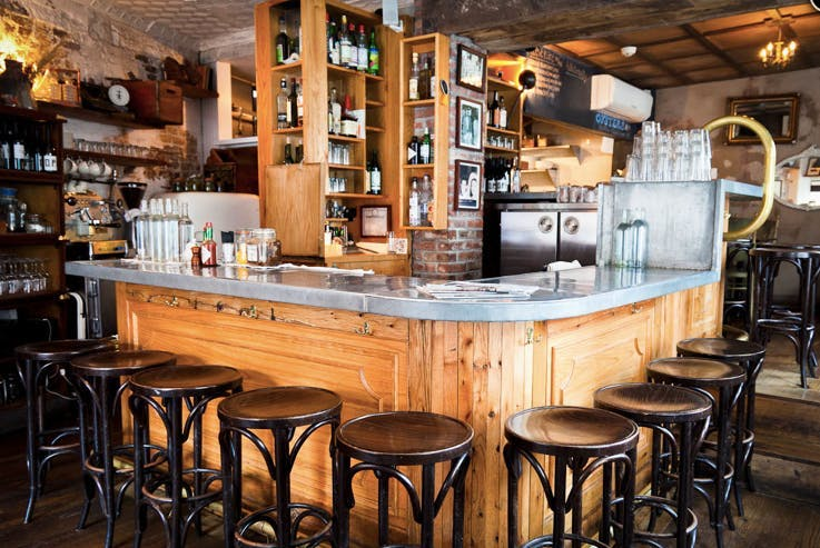 a bar stand