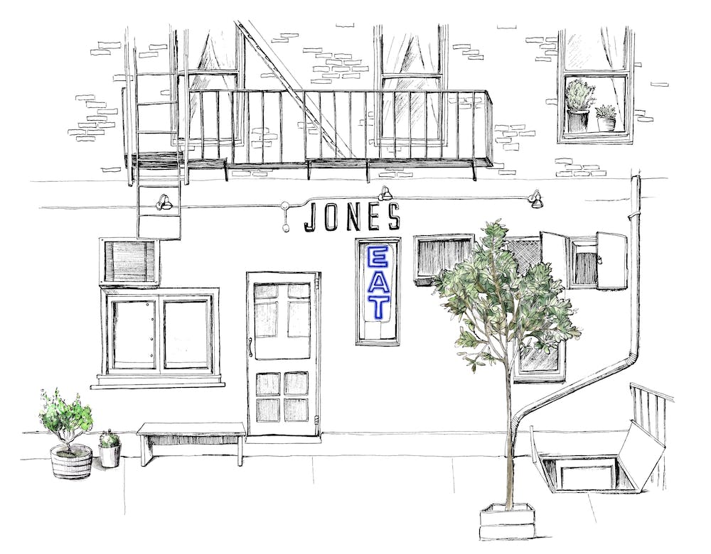 illustration of the jones