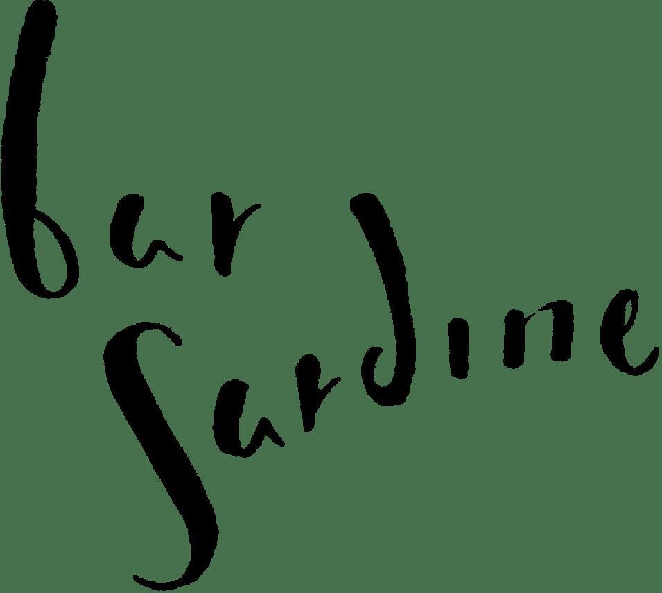 Bar sardine's logo