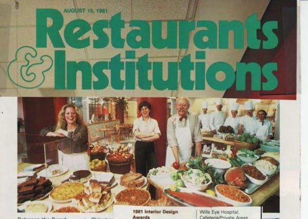 Restaurant Institution Cover of a Magazine