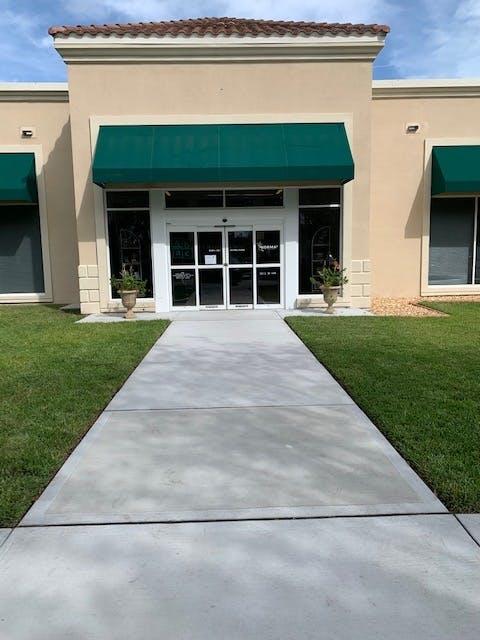 Our entrance