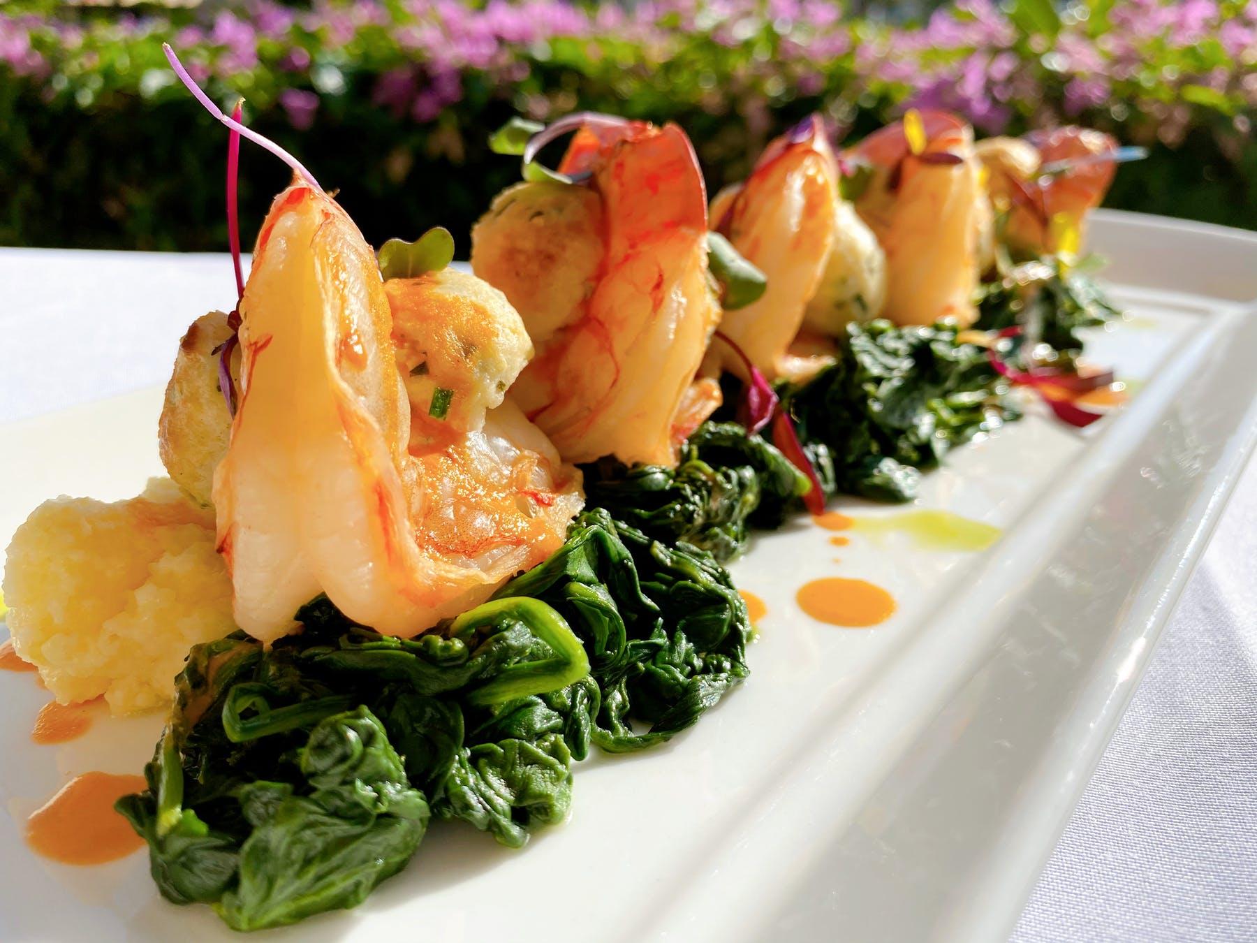 Boursin Stuffed Pink Gulf Shrimp