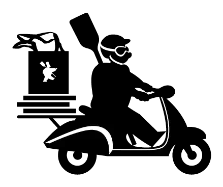 a drawing of a vespa
