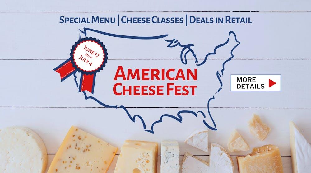 American cheese fest