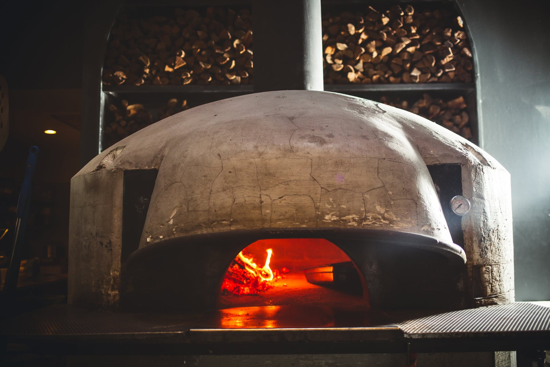 a fire oven