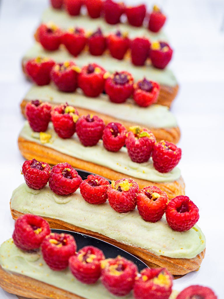 a cake made to look like a train