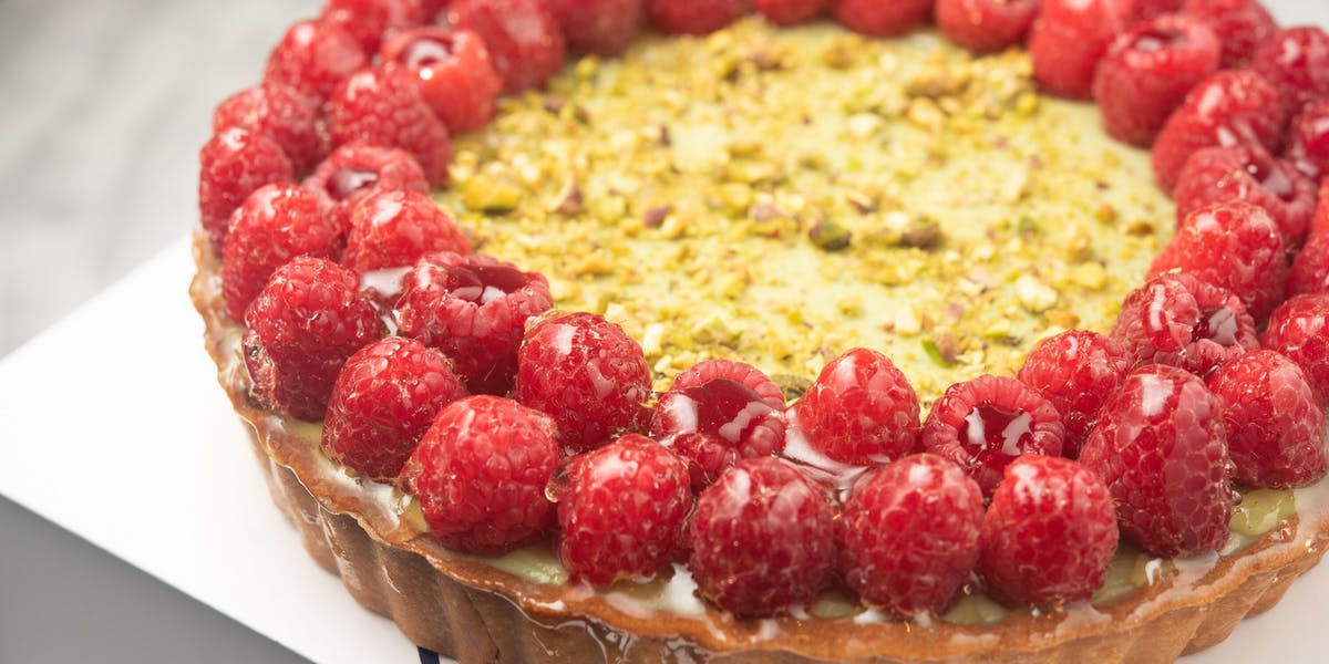 SEASONAL TART Patisserie Chanson Best French Cafe, Bakery, Dessert Bar, Pastry in Flatiron