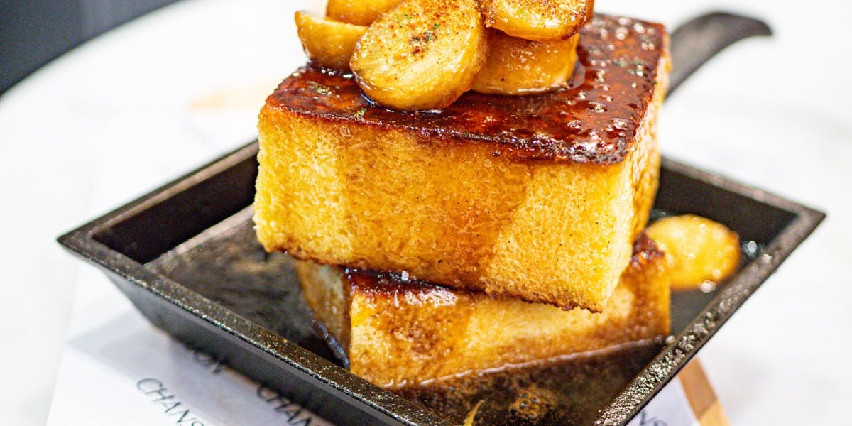 PAIN PERDU - Royale French Toast Patisserie Chanson Best French Cafe, Bakery, Dessert Bar