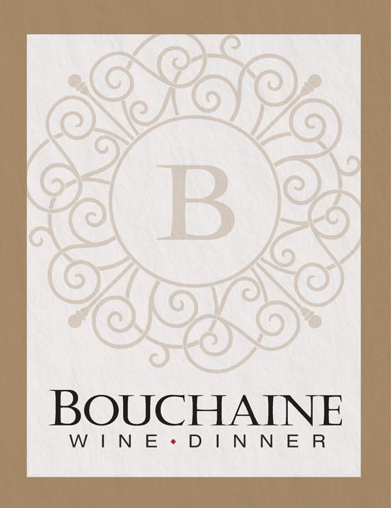 Bouchaine WIne Dinner, January 26 2020