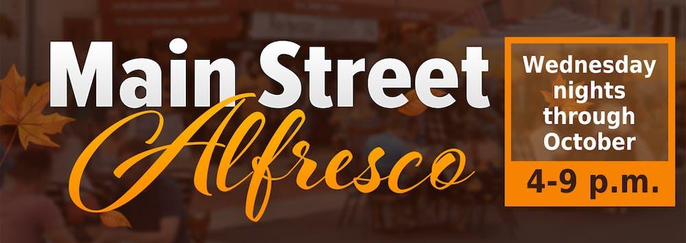 Main Street Alfresco banner