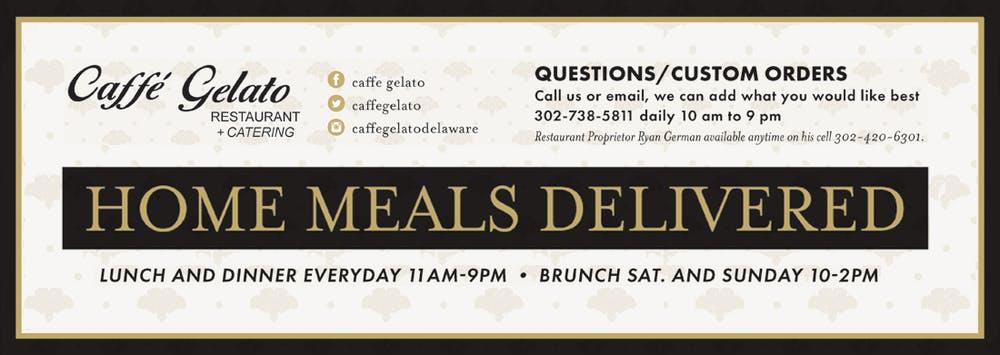 Caffe Gelato Home Meals Delivered