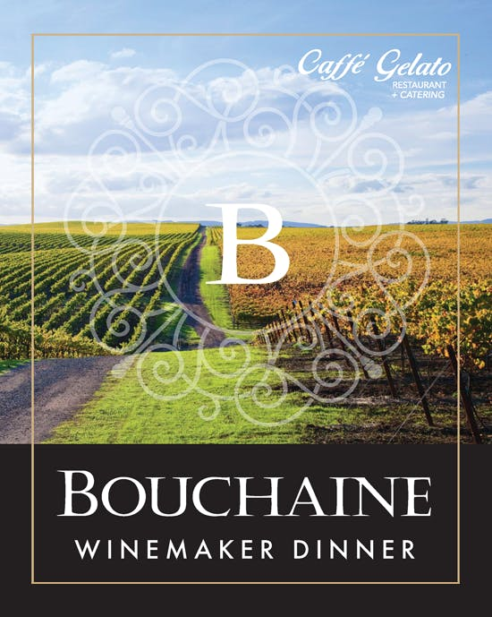 Bouchaine Winemaker Dinner - event