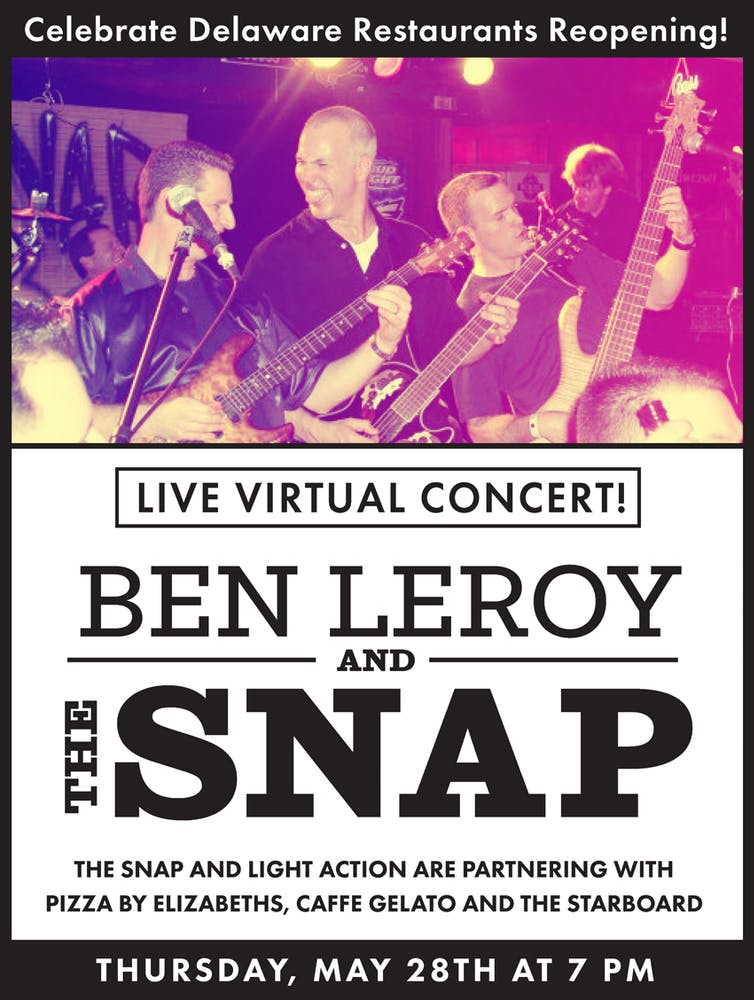 Snap Event Flyer Image