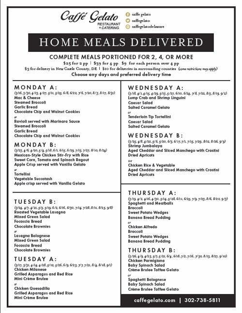 Home Meals Delivered