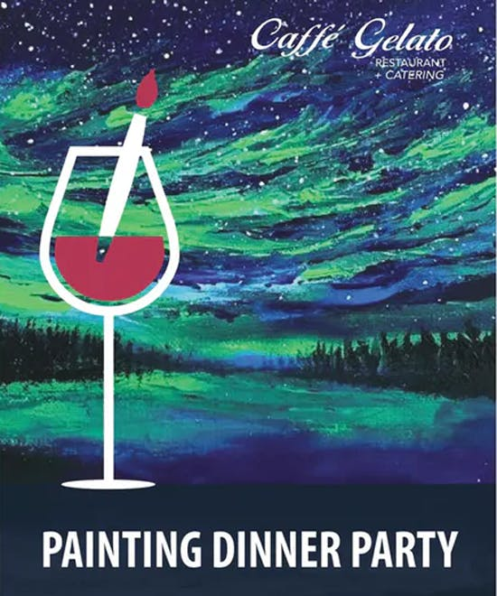 Winter Painting Dinner Party Jan. 2020