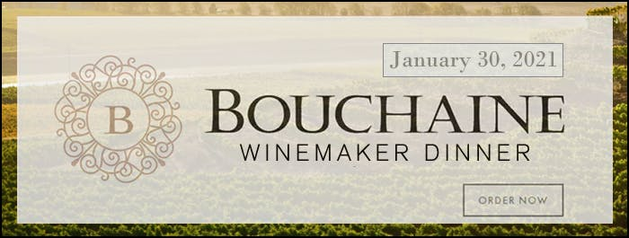 Bouchaine Winemaker Dinner banner