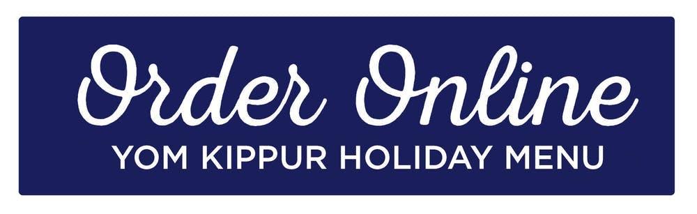 Order Online Yom Kippur Button