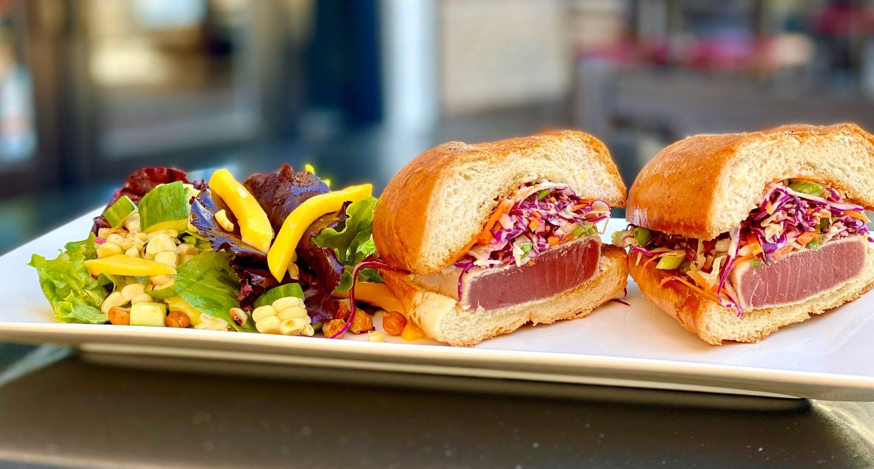 AHI TUNA SANDWICH/ FISH SANDWICH