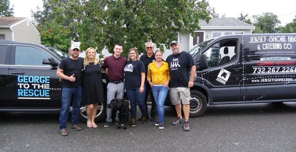 Photo of Gary Sinise Foundation & George to the Rescue