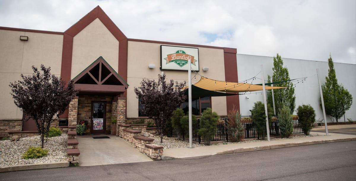 a closeup of a restaurant entrance