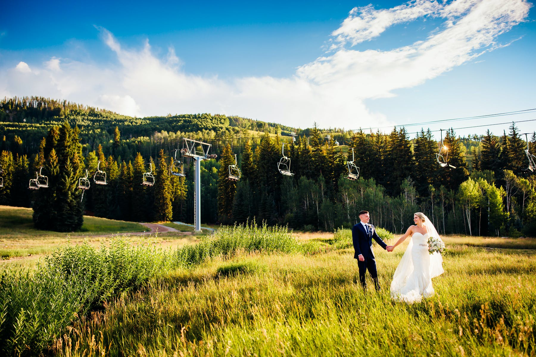Colorado Mountain Wedding Venue Ski Lift