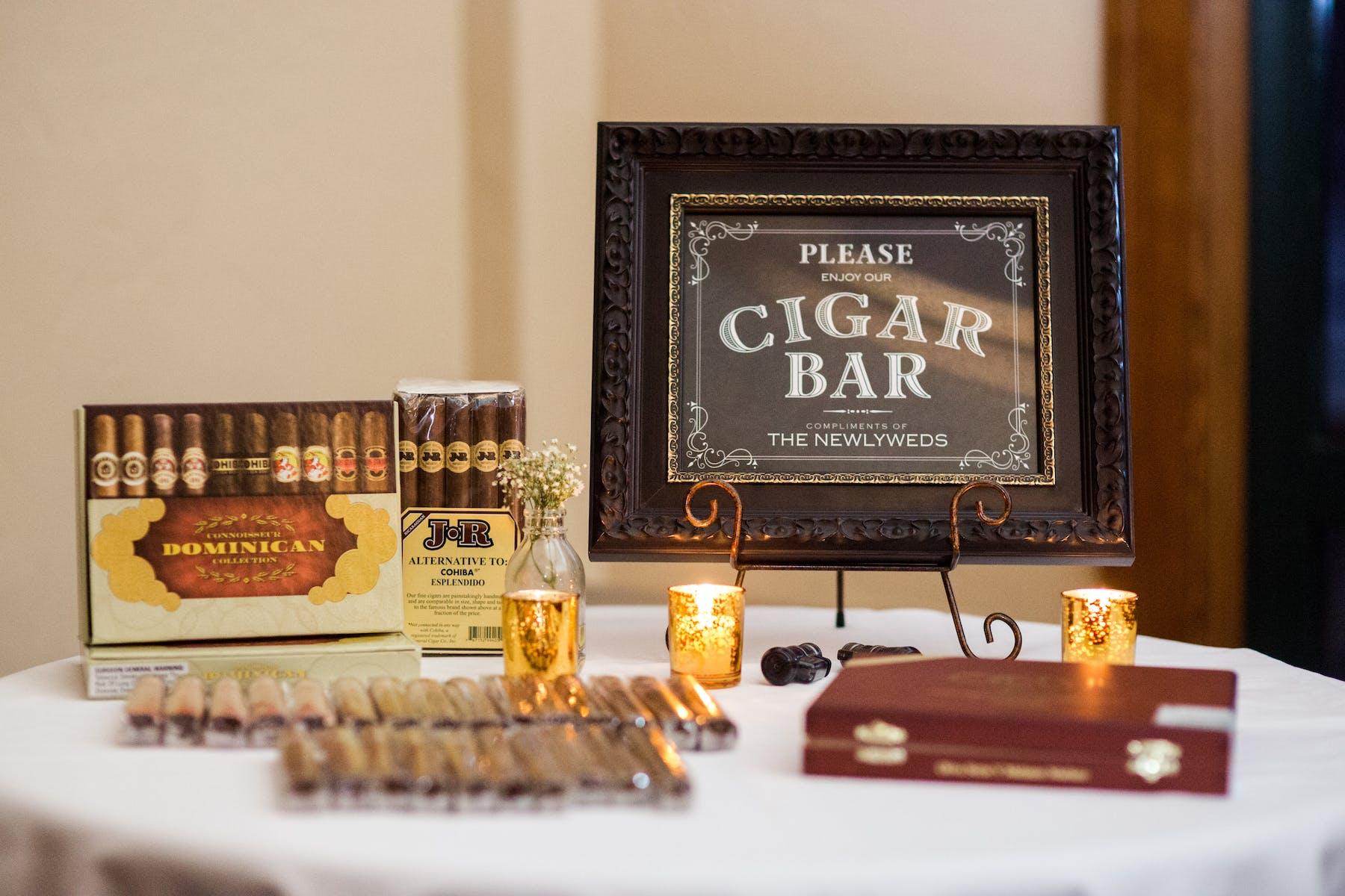 Larkspur Wedding Venue Vail Colorado Mountain Patio Bar Cigar Bar