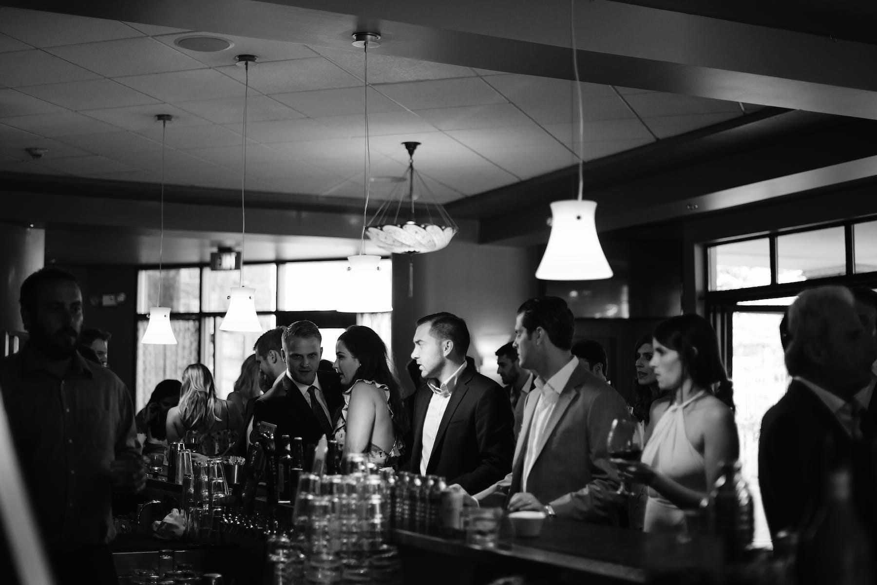 Larkspur Wedding Venue Vail Colorado Mountain Patio Bar Reception