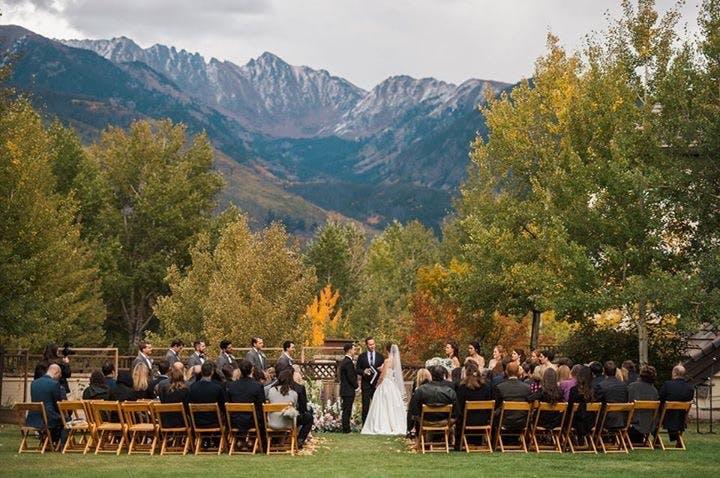 Larkspur Wedding Venue Vail Colorado Mountain Wedding