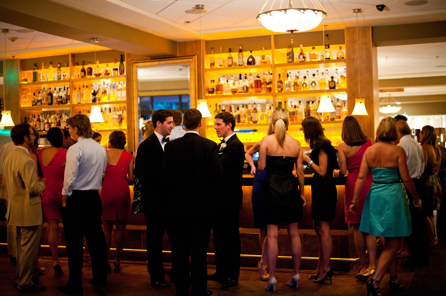 Larkspur Wedding Venue Vail Colorado Mountain Patio Cocktail Reception