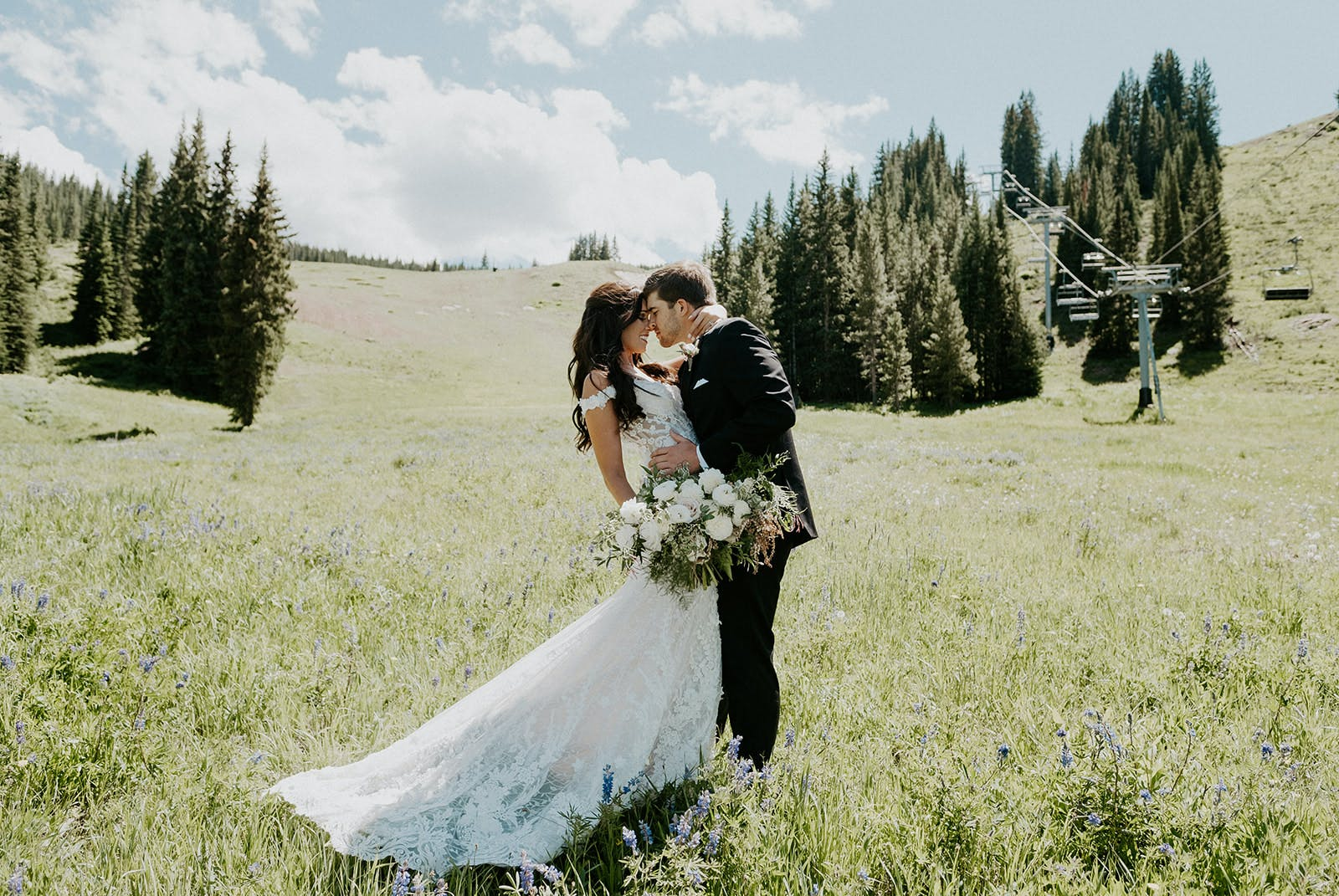 Larkspur Wedding Venue Vail Colorado Mountain Wedding