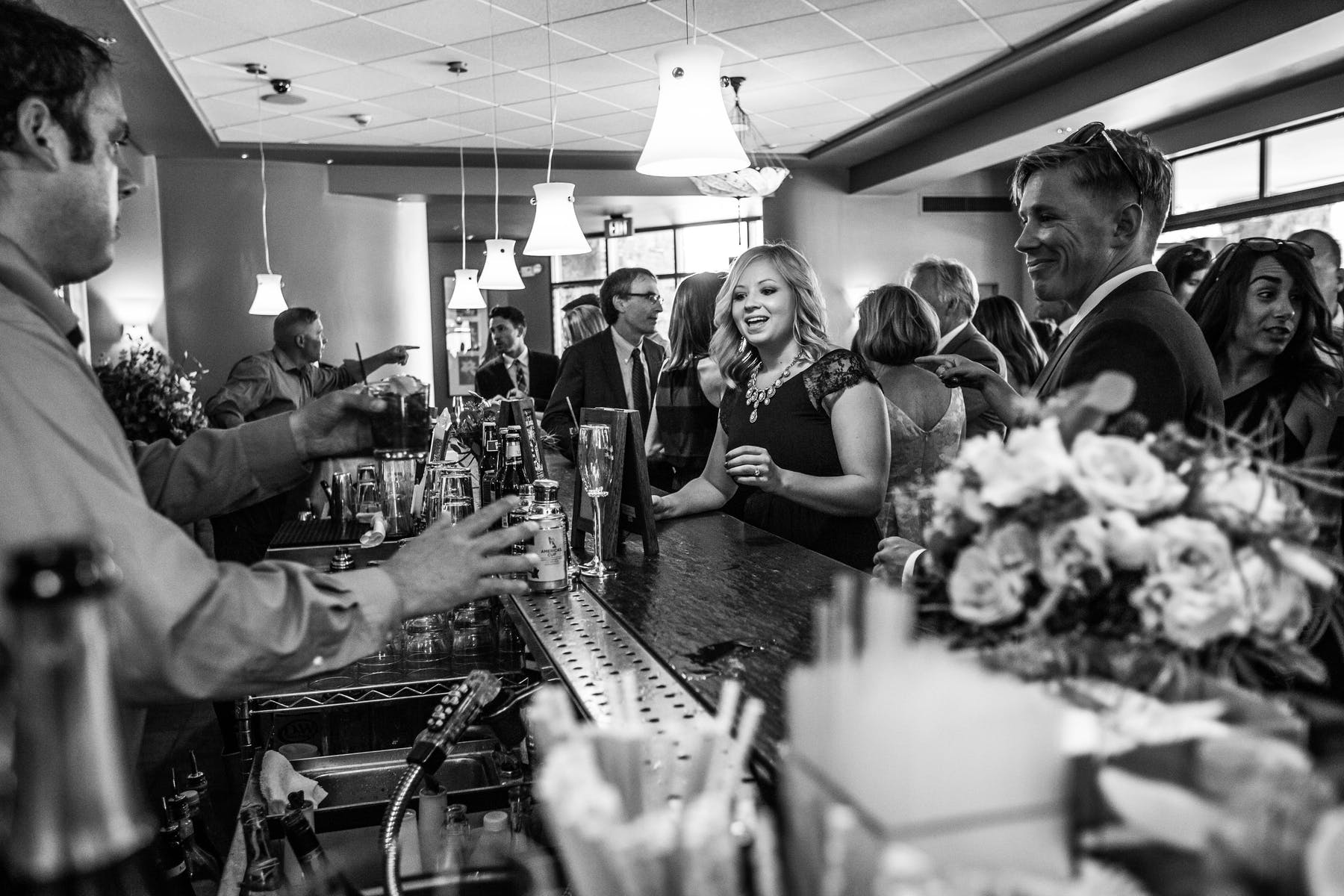 Larkspur Wedding Venue Vail Colorado Mountain Patio Bar