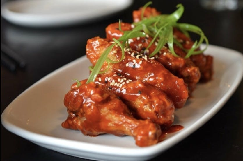 Crispy Spicy Wings